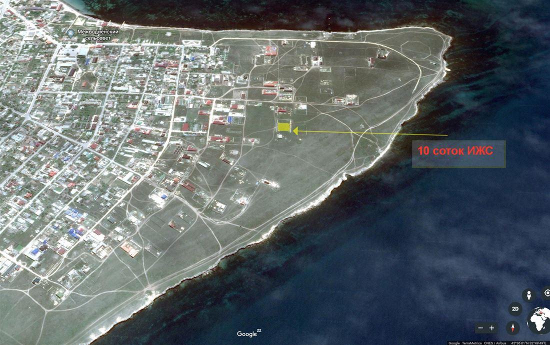 id в имлс 1305138 продам участок площадью 20 сот. пгт черноморское межводное земли н ...
